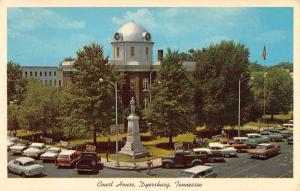 Dyersburg Tennessee Court House Confederate Monument Vintage Postcard K72762