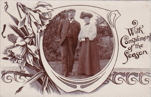 Scotland Musselburgh Mr and Mrs David Wallace Redhouse Home For Boys Real Photo