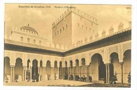 Expositin de Bruxelles 1910, Pavillion d'Espagne