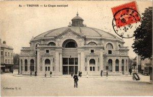 CPA TROYES - Cirque municipal (71683)