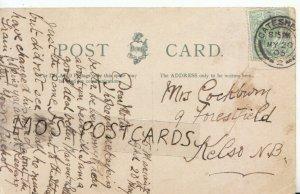 Genealogy Postcard - Cockburn - 9 Forestfield - Kelso - N.B - Ref 6865A