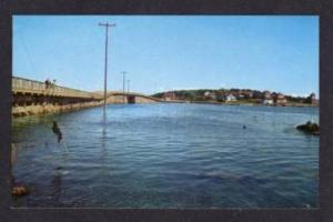 ME View Bailey Island Bridge ORR'S ORRS ISLAND MAINE PC