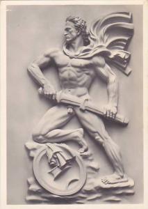 RP, Nude Warrior Man Sculpture, Arno Breker: Der Wachter, Germany, 20-40s