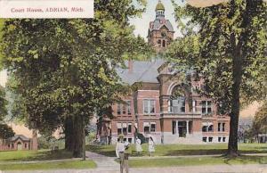 Court House, Adrian, Michigan, PU-1911