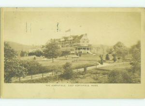 Divided Back THE NORTHFIELD HOTEL East Northfield Massachusetts MA HQ5306