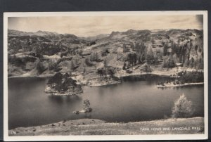 Cumbria Postcard - Tarn Hows and Langdale Pikes   DC2557