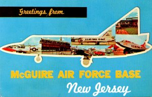 New Jersey Burlington County Greetings From McGuire Air Force Base