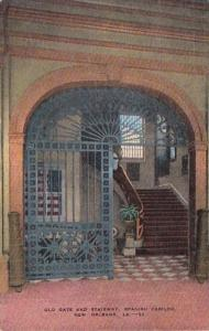 Louisiana New Orleans Old Gate and Stairway Spanish Cabildo
