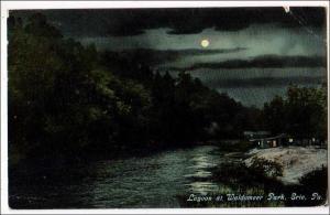 Lagoon at Waldameer Park, Erie PA    (crease)
