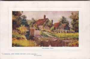 Tucks Coltishall Lock Norfolk Broads Series 9708 1909