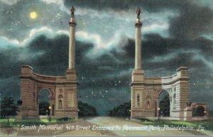 USA Smith Memorial 41st Street Entrance to Fairmount Park Philadelphia 03.82