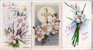 3 - Easter Cards with Flowers