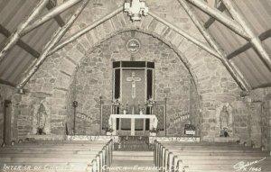 RP: EVERGREEN , Colorado , 1940s ; Interior , Christ the King Church