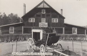 RP: 100 MILE HOUSE , B.C. , Canada , 1930-40s ; The LOdge