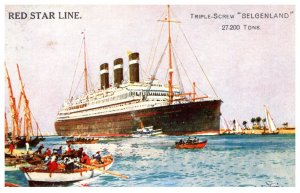 S.S. Belgenland , Red Star Line