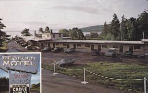 2-Views, Bedford Motel, Nova Scotia, Canada, 40-60s