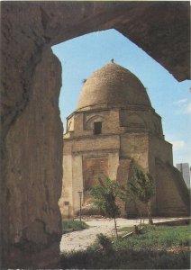 Postcard Uzbekistan Samarkand architecture tower dome