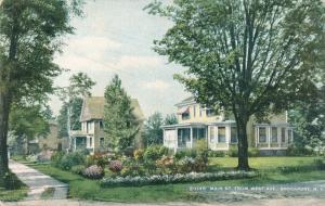 Main Street Homes from West Avenue - Brockport NY, New York - DB