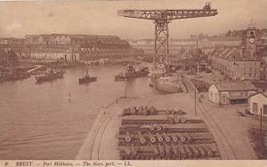 The Navy Port, Brest (Finistere), France, 1900-1910s