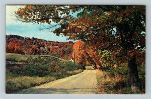 Cobalt ON- Ontario, Scenic Roadside Vistas, General Greeting, Chrome Postcard