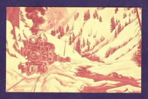 CO Silverton RR Railroad Denver & Rio Grande Train PC