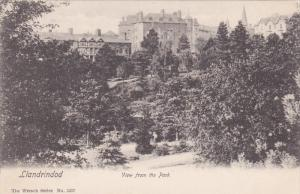 LLANDRIDOD , View from the Park  , Wales , 00-10s