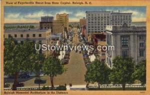 Fayetteville Street Raleigh NC Unused