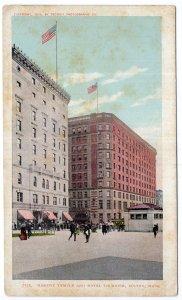 Boston, Mass, Masonic Temple and Hotel Touraine