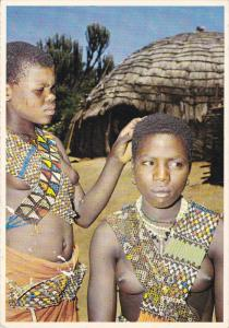 Two Young Native Maidens , RSA , PU-1982