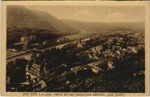 CPA AK Bad Ems partie b.d. Kurhotel Vier Turme GERMANY (1122665)