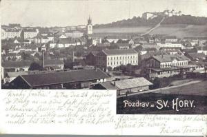 Czech Republic Pozdrav ze Sv. Hory 02.22