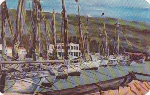 Haiti Port-Au-Orince Boats In The Harbor