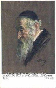 Polen, Polska, Talmudist, Talmudysta JerUSA lem, Israel Unused