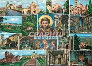 Modern Postcard Greetings Assisi
