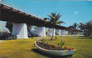 Seven Mile Bridge From Pigeon Key To Key West Florida