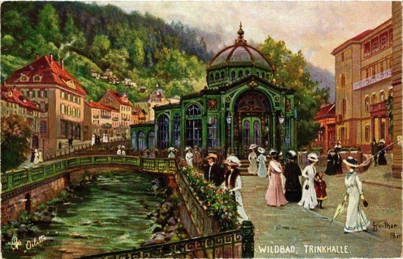 CPA AK Wildbad- Trinkhalle GERMANY (945670)