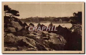 Old Postcard Brittany Picturesque Island Brehat the entrance of Port Clos Vie...