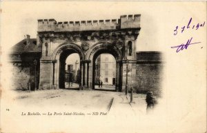 CPA La Rochelle. La Porte Saint Nicolas. (666760)