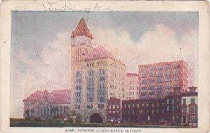 Illinois Chicago Twelfth Street Depot 1909