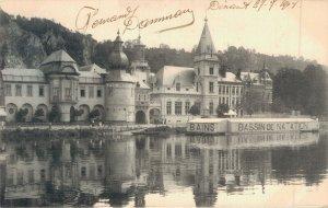 Belgium Dinant Hotel de ville et Poste 1904 04.78