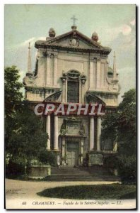 Old Postcard Chambery Facade of the Sainte Chapelle