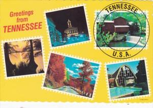 Tennessee Greetings With Multi Views