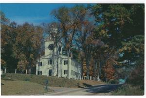 Lenox, Massachusetts, Early View of The Church On The Hill