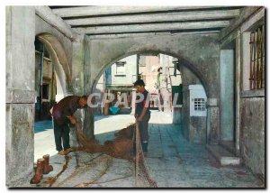 Modern Postcard Chioggia Calle Chioggiatta