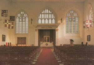 Grand Priory Church Order Of St John London WW2 Damage Postcard