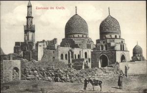 Cairo Egypt Tombeaux des Khalifs c1910 Postcard