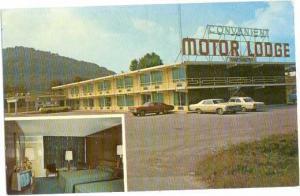 Convenient Motor Lodge, 1-75 & Hwy. 92 Jct. Williamsburg, Kentucky, KY, Chrome