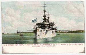 USS New York - Second Armored Navy Cruiser