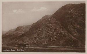 Scotland Postcard - Ossian's Cave, Glen Coe  RS22776
