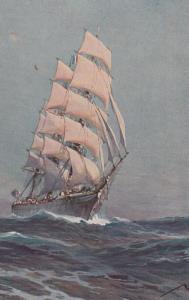Sailing Vessel  , 1900-10s : #2